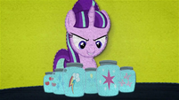 Starlight Glimmer with Mane Six's cutie marks BFHHS4