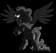 Stygian's Pony of Shadows' form