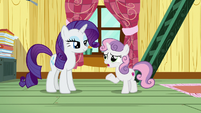 Sweetie Belle -in the middle of something important- S7E6