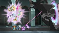 Twilight's rope reaches into Pony of Shadows S7E26