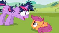 Twilight Sparkle and Scootaloo S02E03