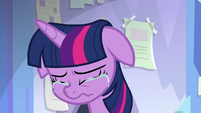 Twilight Sparkle crippled with fear S9E25