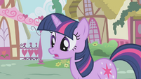 Twilight explaining to Spike S1E6