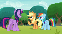 "Applejack ""give us another chance"" S8E9"