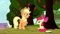 "Applejack ""so that's what this is all about"" S8E12"