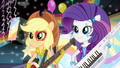 Applejack and Rarity singing EG2.png