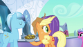 Applejack fearfully looking to the right S3E2.png