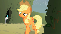 Applejack notices something strange S2E01