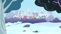 Breezie group flying over snowy field S4E16.png