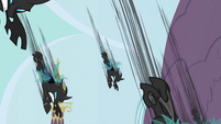 Changelings attacking S2E26