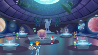 Interior shot of Canterlot City Planetarium EGDS7