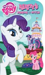 MLP Rarity's Fashion and Style storybook cover