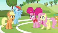 "Pinkie ""practice was supposed to make us better"" S6E18"
