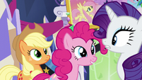 Pinkie -what are you guys talking about-- S5E3