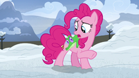 Pinkie Pie -Gummy, did you hear that-- S7E11