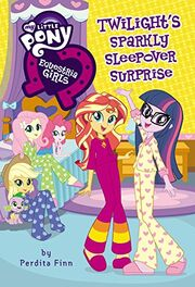 Portada del libro Twilight's Sparkly Sleepover Surprise