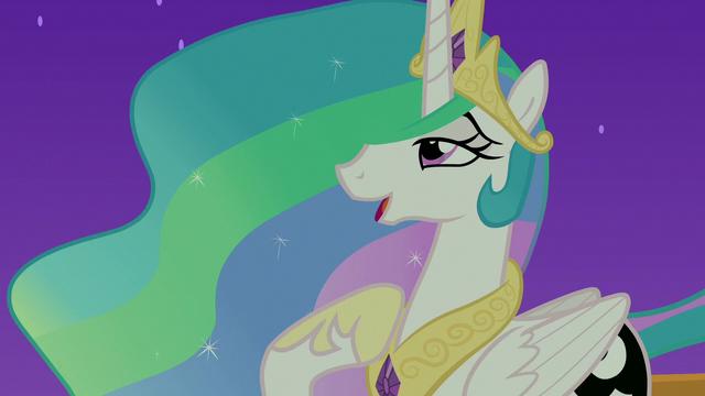 "File:Princess Celestia ""easier than raising the sun"" S7E10.png"