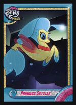 Princess Skystar MLP The Movie trading card