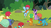 """Rainbow """"I totally had things under control"""" S8E9"""