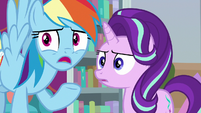 "Rainbow ""caught everypony in time!"" S8E25"