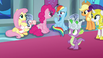 "Rainbow Dash ""who gets the crown?"" S9E4"