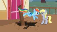 Rainbow Dash 'Nothing!' S2E14