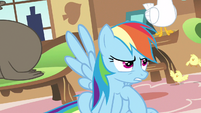 Rainbow Dash oh no you don't S3E13