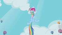 Rainbow Dash screaming S1E10