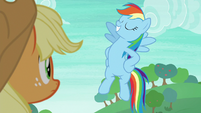 Rainbow Dash striking a pose S8E9