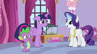 "Rarity ""the effect will be dazzling"" S9E26"
