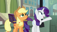 Rarity -you're in the big city now- S5E16