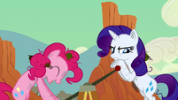 Rarity get it Rainbow Dash S2E14