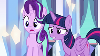Starlight gasping; Twilight uncertain S6E16