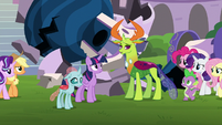 "Thorax ""not everypony sees us the way you do"" S8E1"