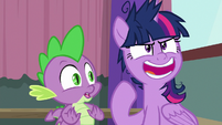 "Twilight ""everypony else is playing"" S9E16"