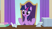 """Twilight Sparkle """"if that means hiring"""" S9E20"""