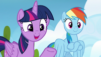 Twilight Sparkle --have you noticed anypony-- S6E24