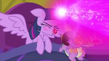 Twilight Sparkle sneezing magic MLPS2