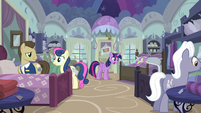 Twilight and Spike in Quills and Sofas store S5E3