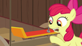 Apple Bloom hammers spoiler onto the cart S6E14.png