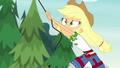 Applejack grabs hold of the belay rope EG4.png