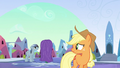 Applejack looks to the left S3E2.png