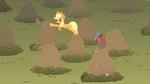 Applejack rover whack a dog S01E19