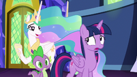 "Celestia ""not aware that I was an expression"" S7E1"