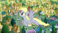 Derpy flying past the camera EG2.png