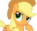 FANMADE Applejack hmm nah by flamp1.png