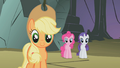 Fluttershy's friends being supportive S1E07.png
