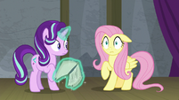 "Fluttershy ""terrifying, paralyzing stage fright"" S8E7"