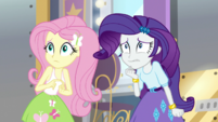 Fluttershy and Rarity scared of Chestnut Magnifico EGS2