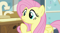 Fluttershy listening to Zecora S7E20